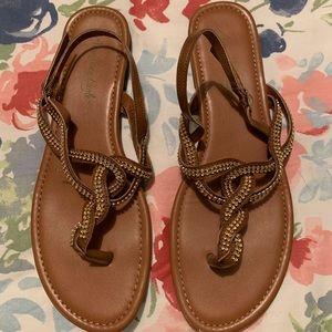 American Eagle Rhinestone Sandals Size 9.5